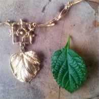 organic jewelry necklace